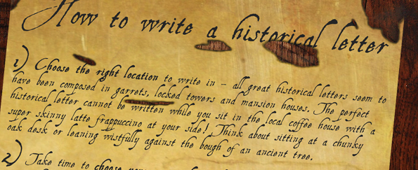 Mills & Boon: How to Write the Perfect Historical Letter