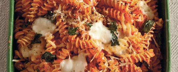 The Silver Spoon: Pizza-Style Fusilli Recipe