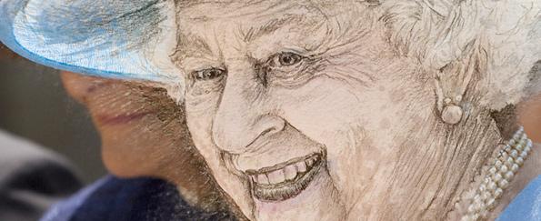 Your Queen Elizabeth II Live Sketches #SketchOff #MakeAStartInArt