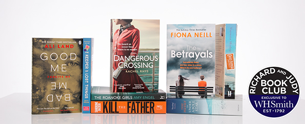 Vote Now For Your Richard and Judy Autumn Book Club 2017 WINNER!