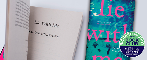 Bookclub Questions for Lie With Me by Sabine Durrant
