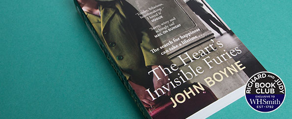 An Exclusive Interview with John Boyne on The Heart's Invisible Furies