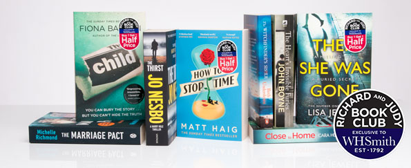Vote Now for your Richard and Judy Spring Book Club 2018 WINNER!