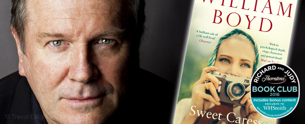 Richard and Judy Podcast: William Boyd discusses Sweet Caress