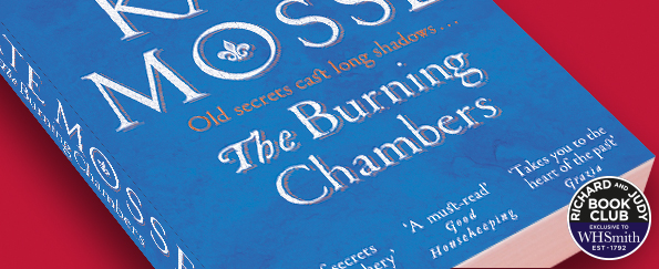 Richard and Judy Introduce The Burning Chambers by Kate Mosse