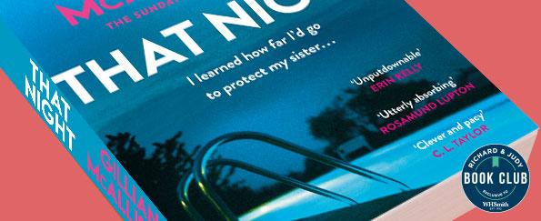 Richard & Judy Introduce That Night by Gillian McAllister