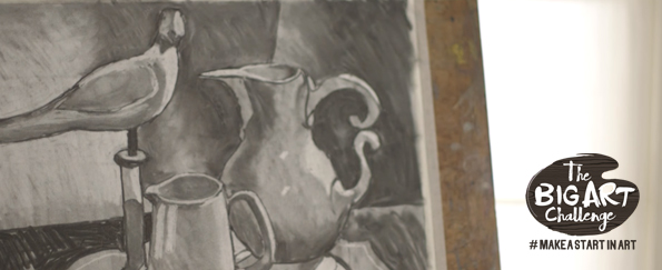 Make a Start in Art: The Basics of Tone in Charcoal