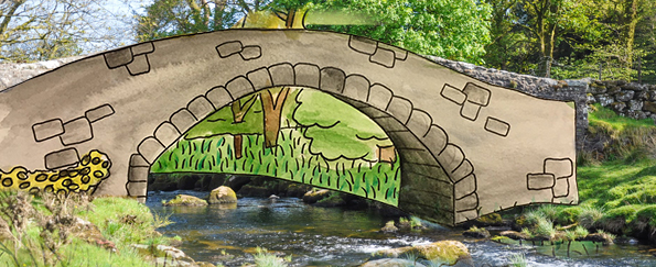 Your Pooh Sticks Bridge Live Sketches #SketchOff #MakeAStartInArt