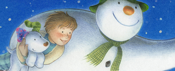 The Snowman and the Snowdog Free Mask Downloads