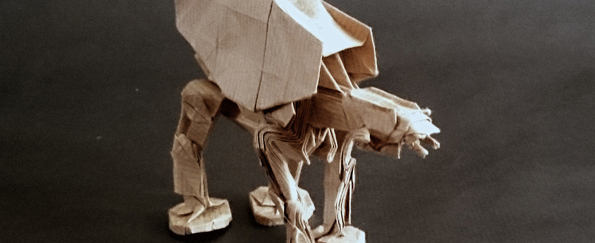 Star Wars Origami: May the Folds be With You