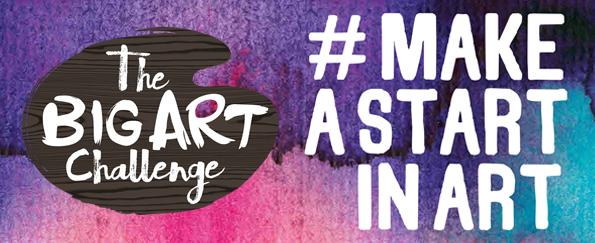 Get Involved in The Big Art Challenge #MakeAStartInArt