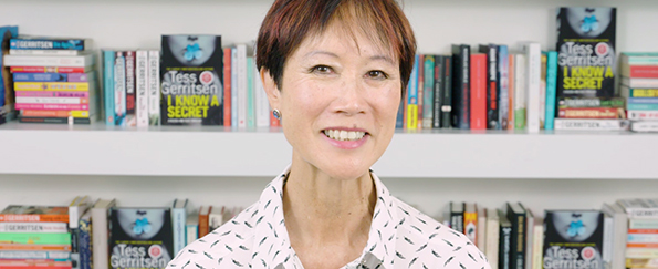 Exclusive Video! Tess Gerritsen Discusses I Know a Secret