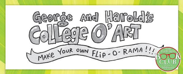 Dav Pilkey: How to Make Your Own Flip-O-Rama