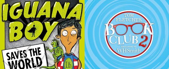 Tom Fletcher Book Club: Iguana Boy Saves the World With a Triple Cheese Pizza by James Bishop