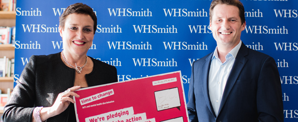 WHSmith Signs the Time to Change Employer Pledge to Take Action to Reduce Mental Health Discrimination