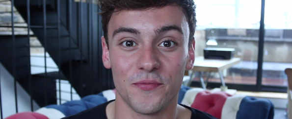 Tom Daley Announces His New Book Tom's Daily Plan