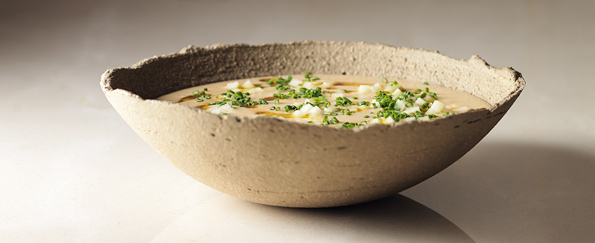 Tom Kerridge: Cheddar and Ale Soup Recipe