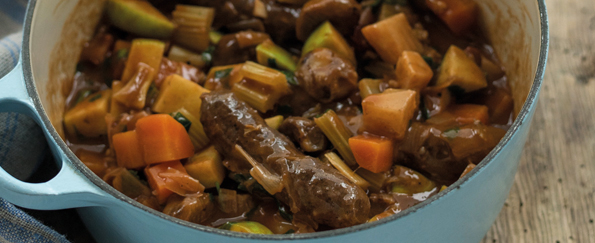Tom Kitchin: Venison Sausage Stew Recipe