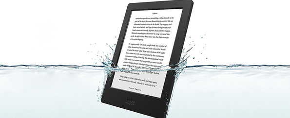 The First Waterproof eReader has Arrived