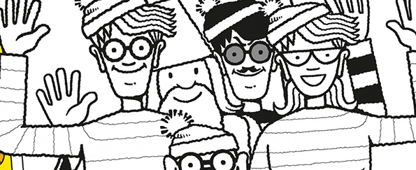 Where's Wally Free Colouring Pattern Download