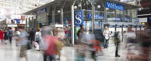 WHSmith Statement: Supporting Scottish Authors and Literature in Edinburgh Airport