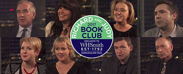 Exclusive Video! Authors Tell Us Why They Love The Richard and Judy Book Club