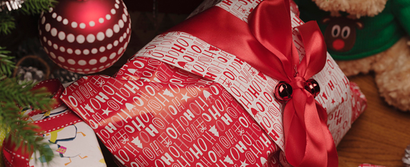Cosy Charity Christmas Gift Wrap