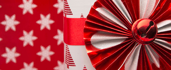 New! Scandinavian Red Gift Wrap Inspiration