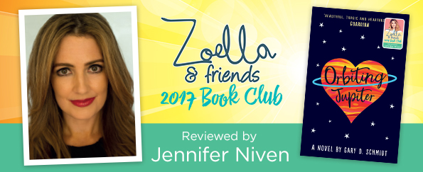 Zoella & Friends 2017 Book Club: Jennifer Niven Reviews Orbiting Jupiter by Gary D. Schmidt