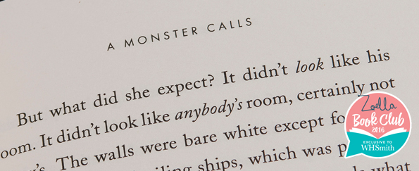 Read an Extract from A Monster Calls by Patrick Ness