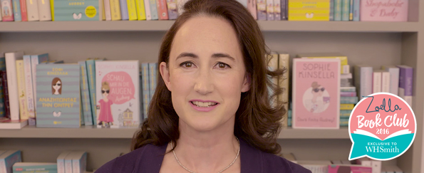 Exclusive Video! Quickfire Questions with Sophie Kinsella