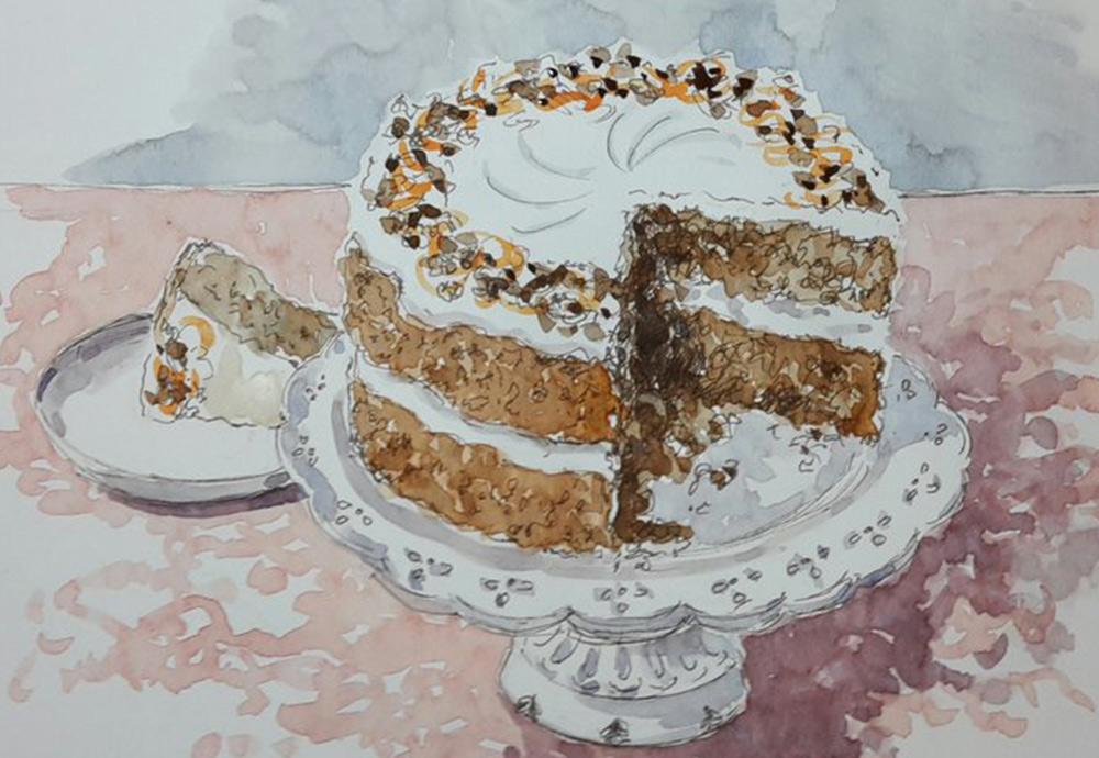 rational kuchen test, your nadiya's cake live sketches #sketchoff #makeastartinart, Design ideen