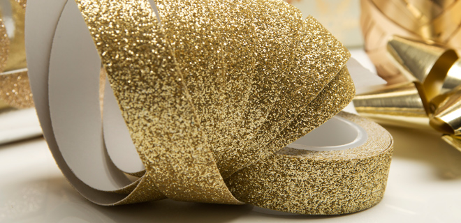 New! All That Glitters Gift Wrap Inspiration