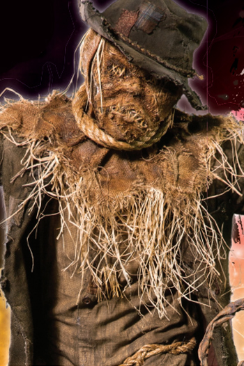 Horror movie with scarecrow