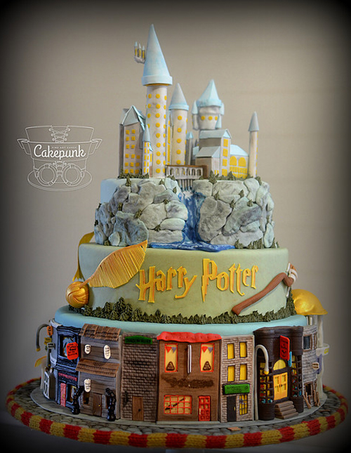 Harry Potter Cake By Cakepunkca