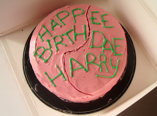 Hagrids Cake For Harry By Craftmarmaladeblogspotcouk