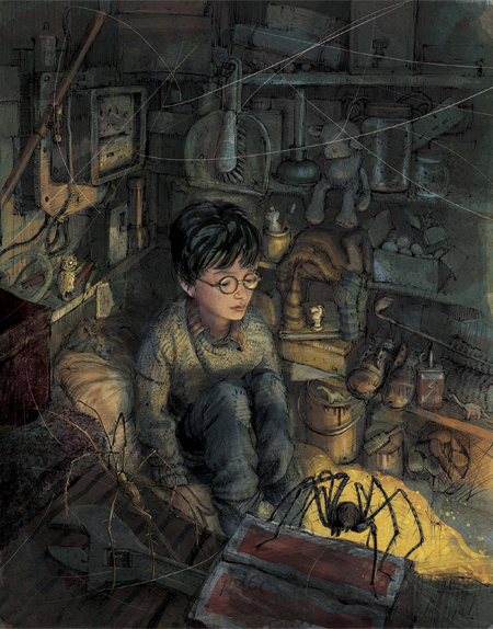 Preview Jim Kays Illustrations For Harry Potter And The