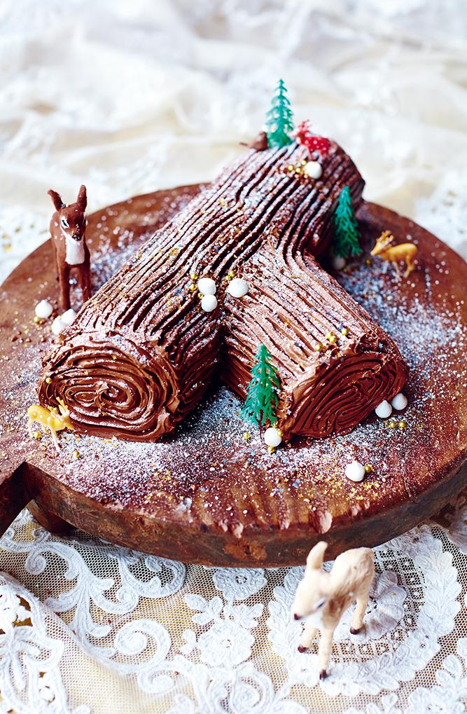 Jamie Oliver Chocolate Log Sweet Chestnut Pur 233 E Honeyed