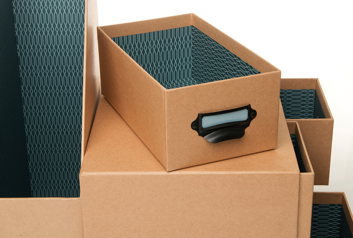 New! Simple Style Kraft Storage Collection