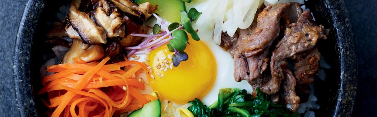 Our Korean Kitchen: Bibimbap – Mixed Rice with Vegetables and Beef Recipe