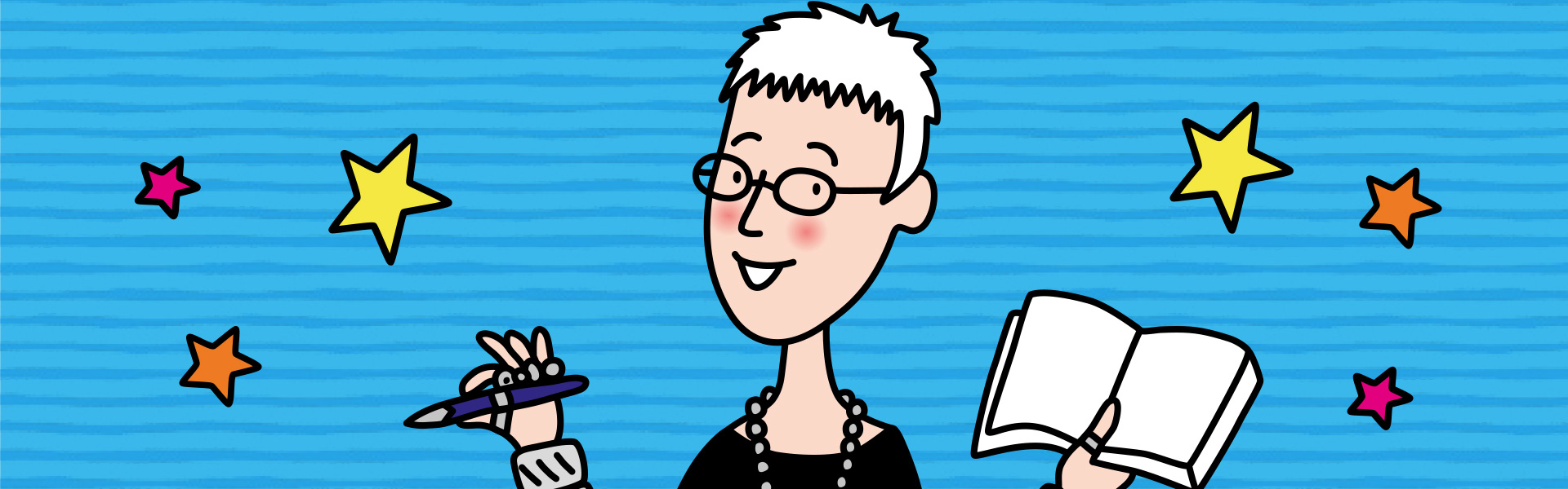 Jacqueline Wilson: Top Tips for Creative Writing