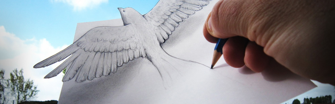 Unbelievable 3D Sketches That Will Make You Look Twice