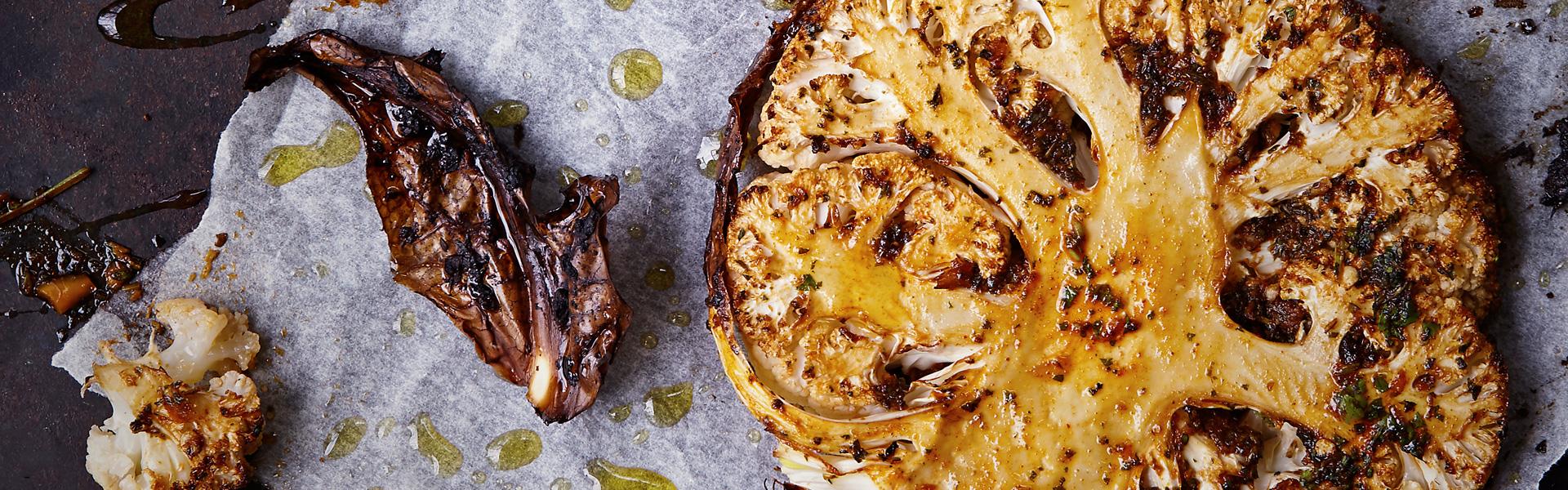 Aine Carlin: Jerk-Style Cauliflower Steaks Recipe