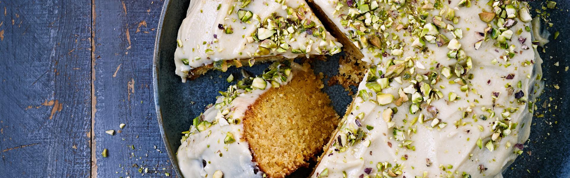 Aine Carlin: Orange Polenta Cake Recipe