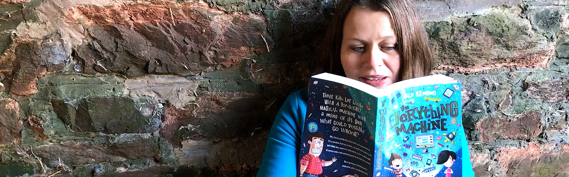 Kids' Book of the Month: Ally Kennen Reads an Extract from The Everything Machine