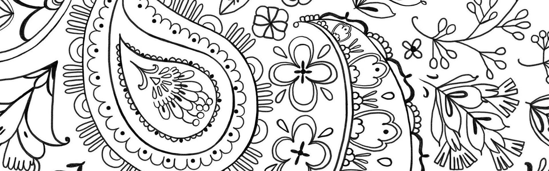 Happy and Energized Colouring Free Pattern Download
