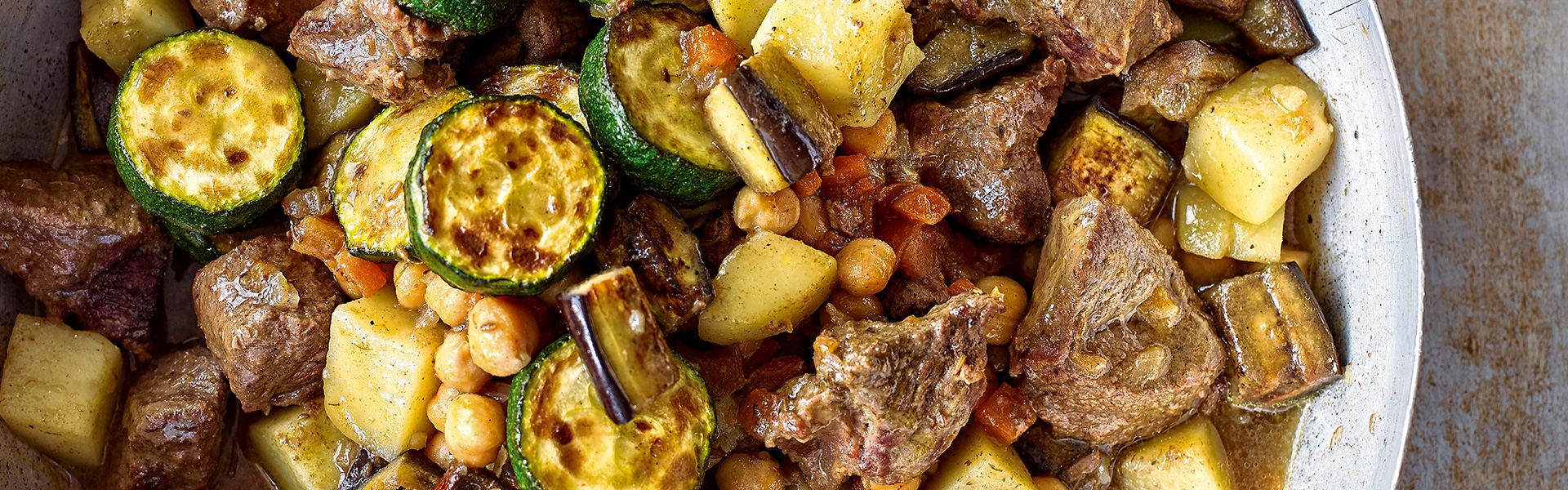 The Big Family Cooking Showdown: Lamb and Vegetable Stew with Couscous Recipe