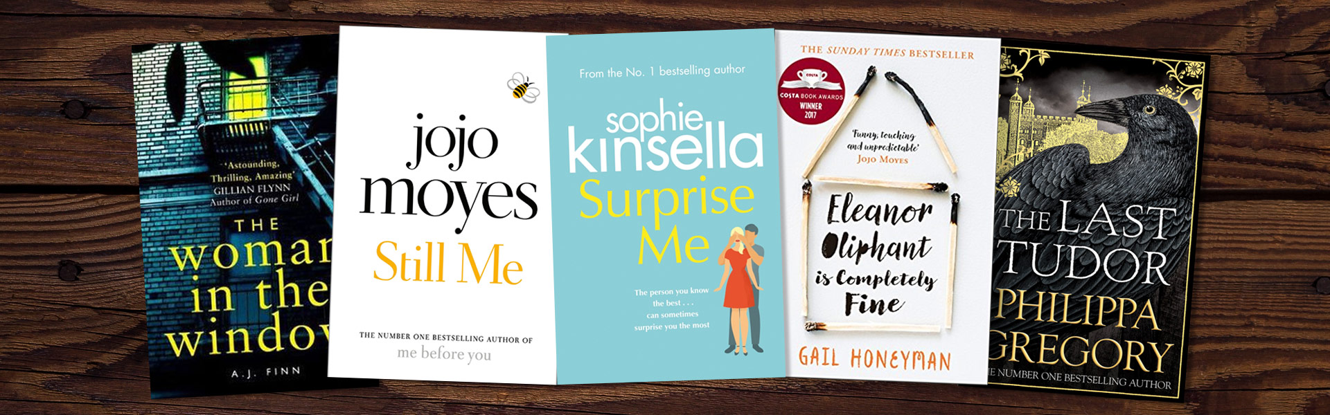 Fiction Books We're Loving this Month: February - WHSmith Blog