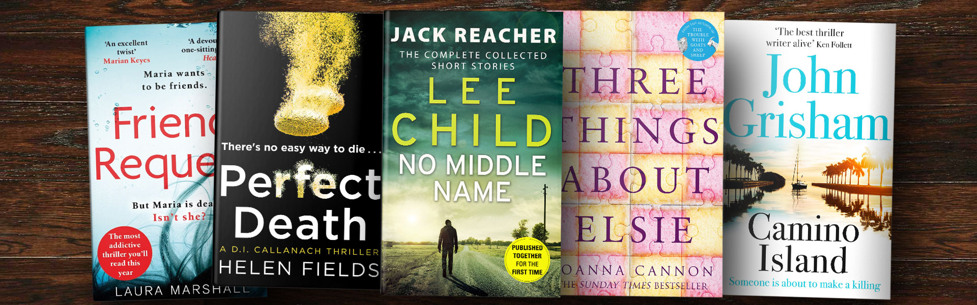 Fiction Books We're Loving this Month: January