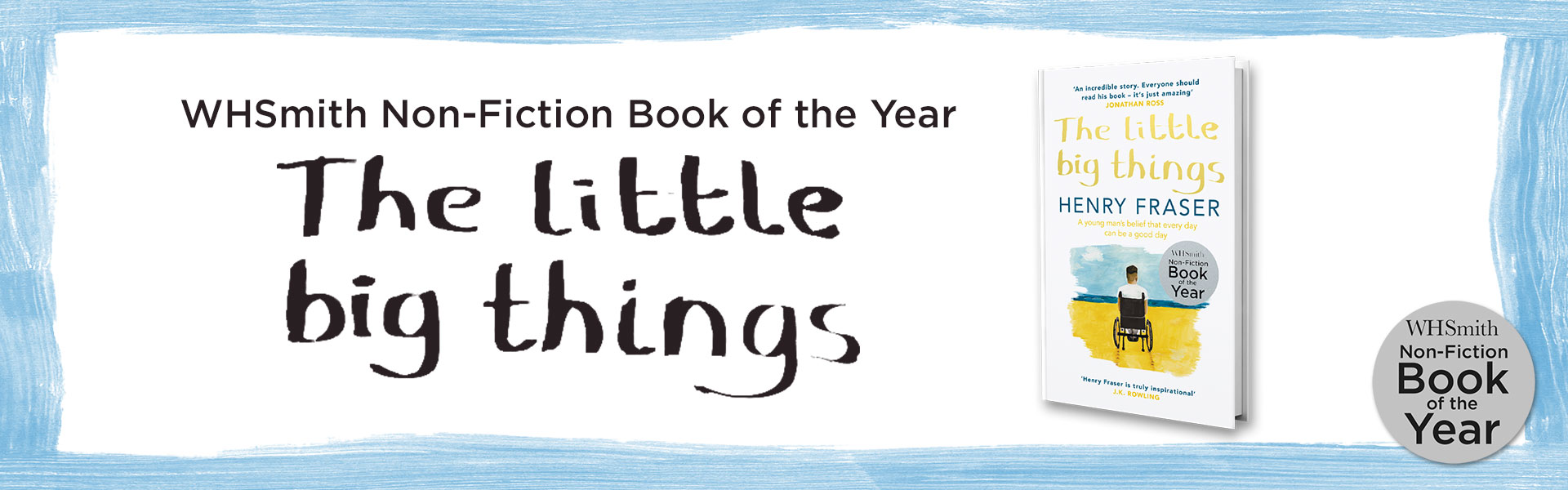 Whsmith non fiction book of the year 2017 the little big things by whsmith non fiction book of the year 2017 the little big things by henry solutioingenieria Choice Image